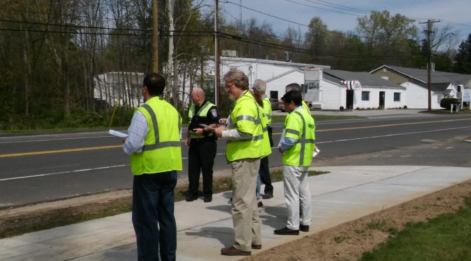First Road Safety Audit in Brookfield
