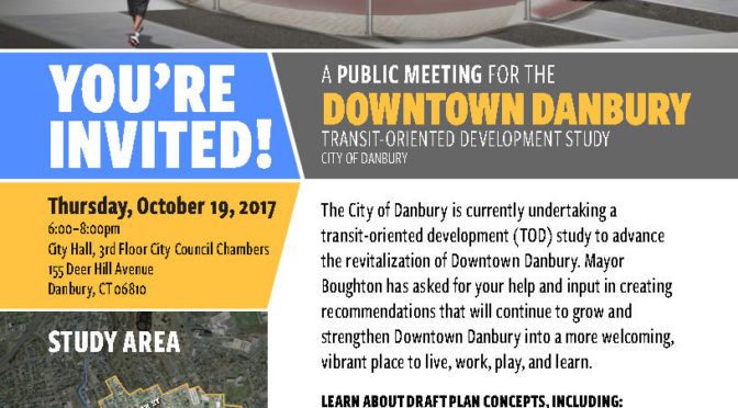 Danbury: TOD Study Public Meeting