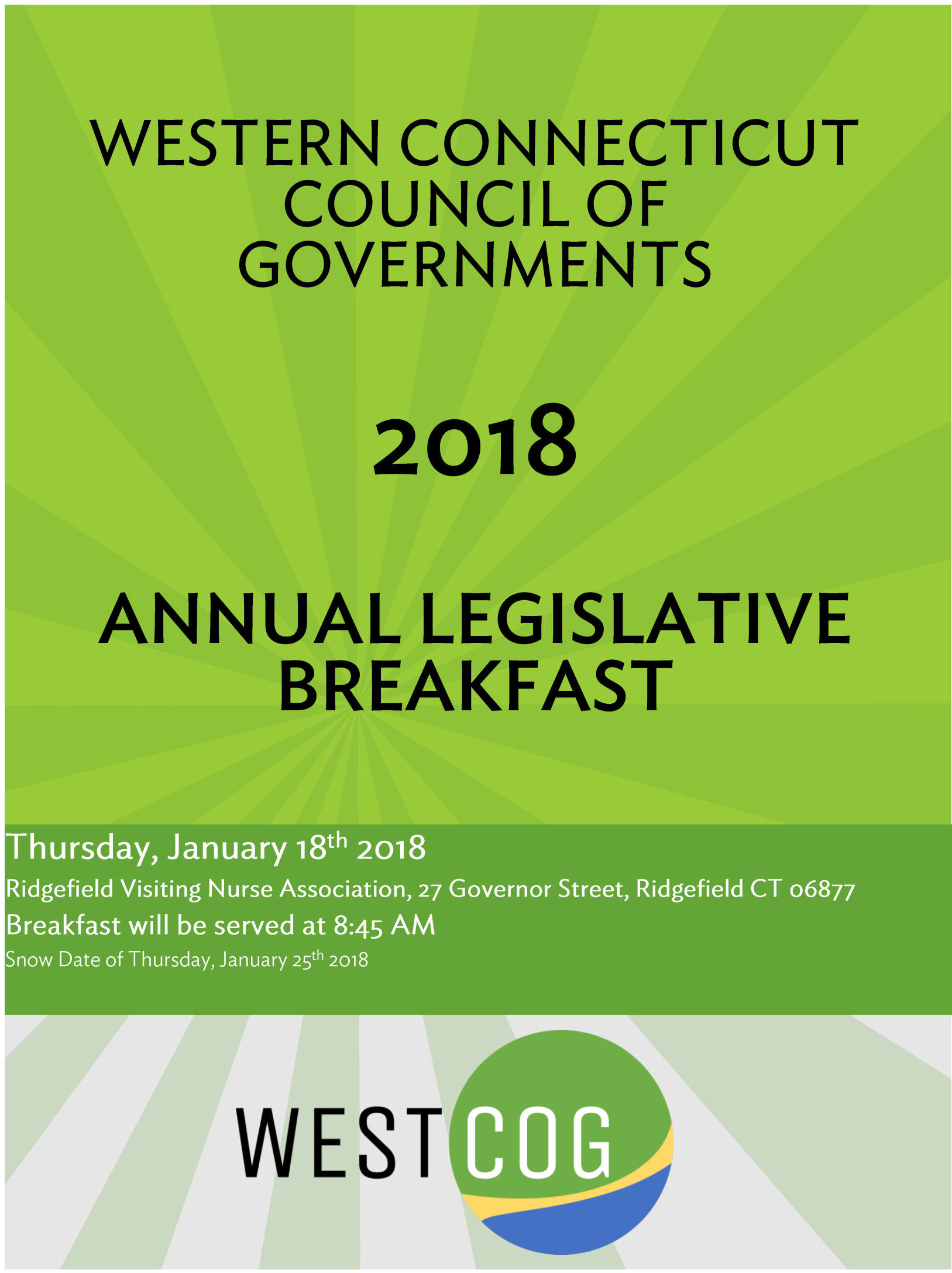 Legislative Breakfast 2018 Flyer